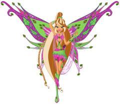 Картинки Winx 5-4 сезон Флайрикс и игра одевалка феи Флоры